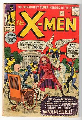 Marvel Comics VG- X MEN  # 2  1964 THE VANISHER