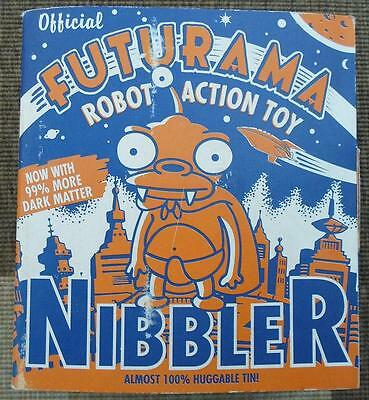 "Futurama Tin wind up  NIBBLER rare  FIGURE *NEW* 8""  Robot clockwork 2000"