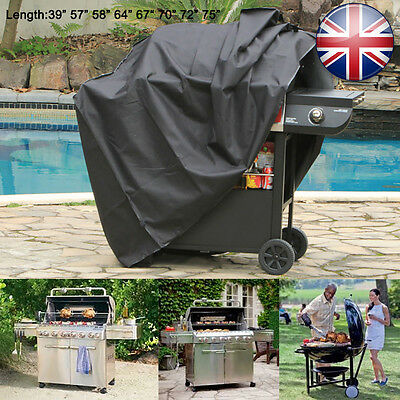 Large dust Waterproof Barbecue Cover Garden Patio Grill Protector BBQ Cover UK