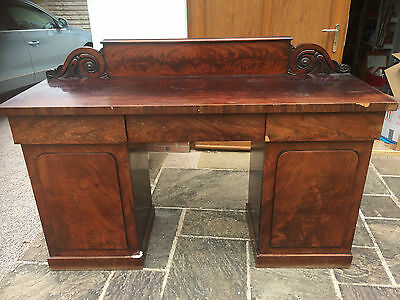 A Mid 19th Century Mahogany Sideboard for restoration.