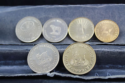 Macedonia 6  assorted coins   lot G 900