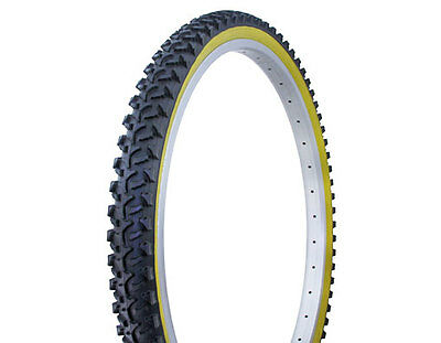 "Tire Duro 26/"" x 2.00/"" Black//Gum Side Wall  beach cruiser bicycle tire 268206"