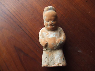 CHINA.  TANG DYNASTY.  8th/9th CENTURY.   TERRACOTTA FIGURE   NICE CONDITION,