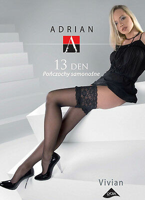 Classic Stockings Germany 6 Inch Lace Stay Up Top Black
