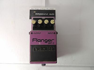 Boss Bf-2 Flanger  Effects Pedal  Free U.s. Shipping