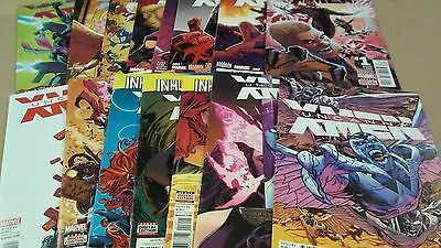 15 Uncanny X-Men comics lot issues 1-8. 10, 15-19 + annual 1st Print Nice Run