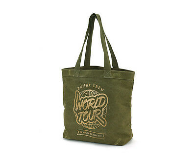 NWT Zumba Fitness World Tour Tote Bag Armed and Ready (Gym, Cosmetic, Shoe bag)