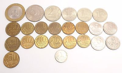 -Auction- Lot Of Russia Coins 1997-2008