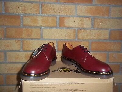 Dr Martens Cherry  Red  Made In England Mod  Ska  Vespa