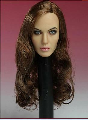 SELLER U.S KUMIK Milla Jovovich 1//6 Head Sculpt For Hot Toys Phicen Body