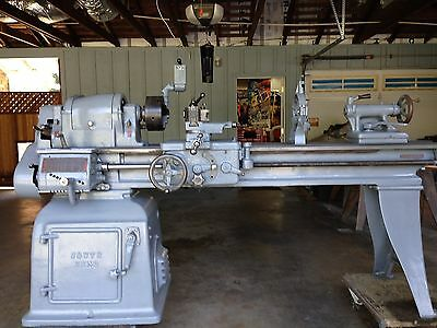 "South Bend 16"" Lathe with Quick Change Tool Post - Toolroom lathe"