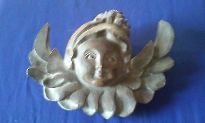 vintage /Antique wooden wing wall angel