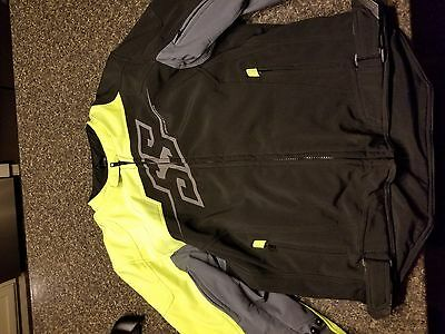 Speed and Stength motorycle jacket large l Hammer Down