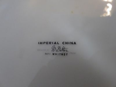 4 dinner plates Imperial China Whitney W. Dalton Japan 5671 10 3/8""