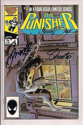 The Punisher #4 Signed by John Beatty, Gerry Conway, Jim Shooter, Mike Zeck WCOA