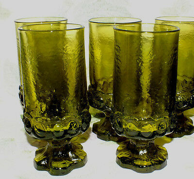 FRANCISCAN MADEIRA CITRON GREEN ICED TEA GOBLET  (8 available price for 1)  EXC