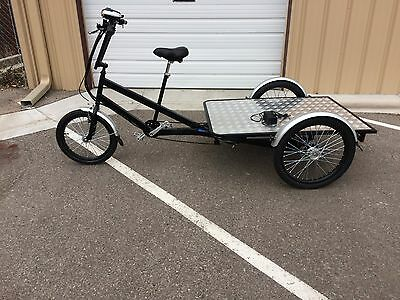 Cargo Bike (New, Electric) Build Your Own Vending/Food Cart