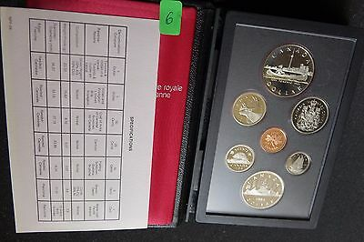 Kanada / Canada KMS Kursmünzensatz Coin Set 1984 PP Proof