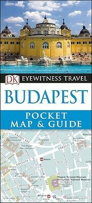 DK Eyewitness Budapest Pocket Map & Guide *FREE SHIPPING - NEW*