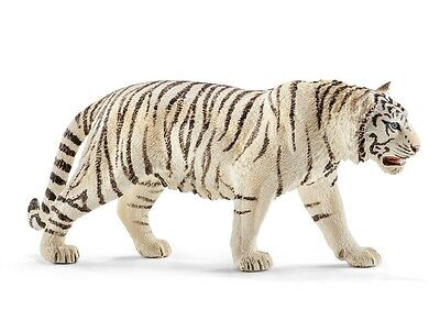 Schleich White Tiger Collectible Toy Figure New with Tag Item 14731