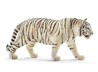 Schleich White Tiger Toy Figure New with tags Item 14731 Poss Free/Combined Ship