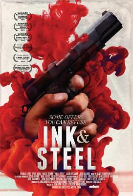 Ink & Steel Movie Poster 13x19 inches