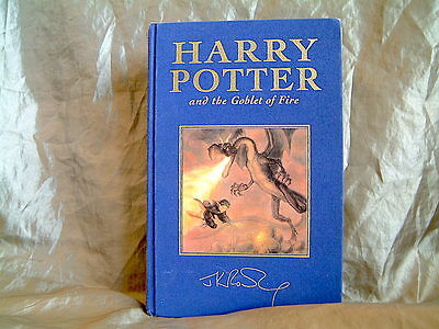 J.k.rowling - Harry Potter And The Goblet Of Fire - Uk Deluxe 1St Ed Hardcover