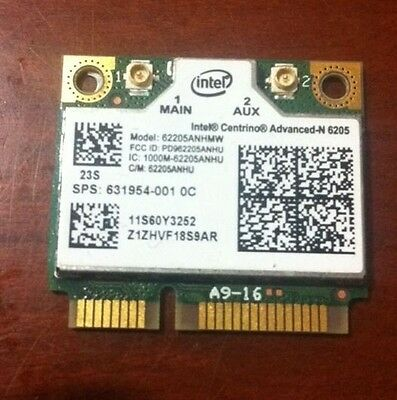 HP Intel  WiFi Link 6205 Network Card hp 631954-001