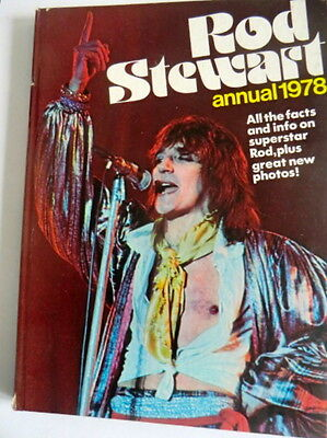 Rare Vintage Uk Hb Book - The Road Stewart Annual 1978 - Packed With Pix!