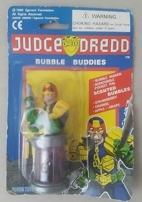 Judge Dredd figure Bubble Buddies Blower 1995 - judge dredd 2000AD