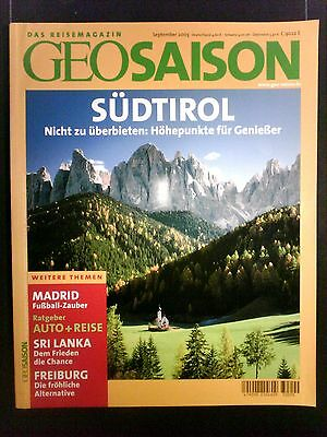 GEO Saison Südtirol  September 2003
