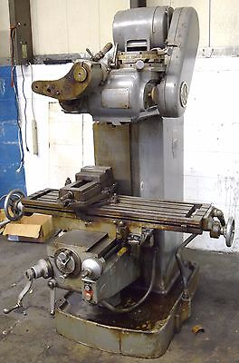 VAN NORMAN #16 Horizontal Mill W/ Vert Head