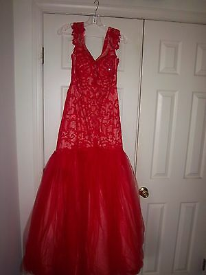 Sherri Hill Evening Gown, Size 12 womens - runs small used once as Prom Dress