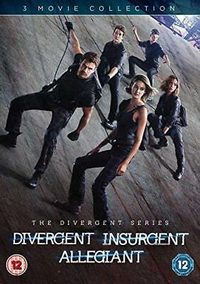 Divergent Insurgent and Allegiant  with Shailene Woodley New (DVD  2016)