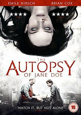 The Autopsy Of Jane Doe  with Emile Hirsch New (DVD  2017)