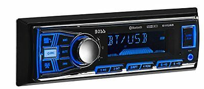 BOSS Audio 611UAB Single Din, Bluetooth, MP3/USB/SD  Car Stereo, Wireless Remote