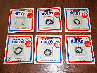 Life-Like All Purpose bulbs for Model Railroad lot of 6 packs