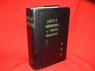Vintage LADIES HANDBOOK OF HOME TREATMENT 1959 Edition OLD HOME MEDICAL BOOK