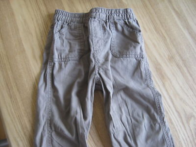 12-18 mth Boys trousers 100% Cotton, Cherokee and Brown