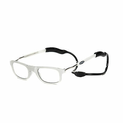 Loopies High Quality Photochromatic Magnetic Reading Glasses Apple White