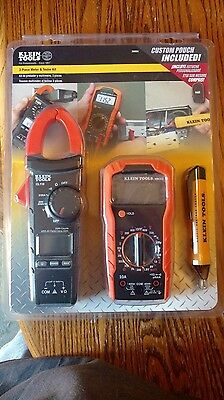 Klein Tools Meter and Tester Kit (3-Piece) FACTORY SEALED.  New