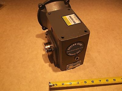 Boston Gear 700 Series Reducer - 0.55 HP, 826 in lb, 60:1, HF721-60-B5-H-P16