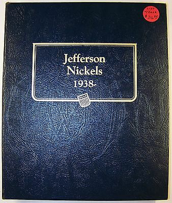 40% OFF! Mostly Unc. and Proof Set of Jefferson Nickels in Whitman Classic Album