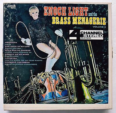 Enoch Light and the Brass Menagerie Vol. 2 Quadraphonic Reel to Reel Quad Tape