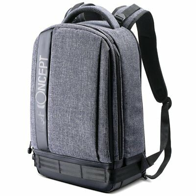 Professional Large Camera Photo Backpack Bag w/ Rain Cover for DSLR Canon Sony