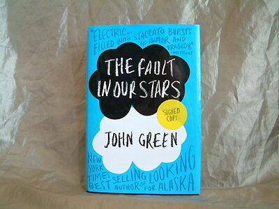 John Green - The Fault In Our Stars - Signed - 1St U.s. Edition Hardcover