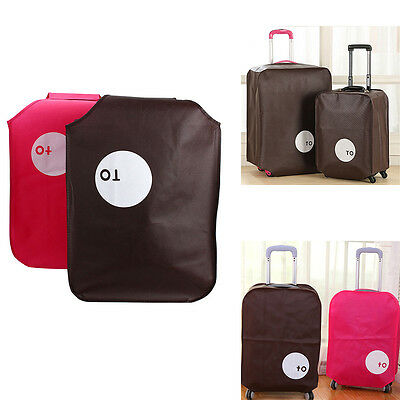 "20""24"" 28"" Portable Elastic Dust-proof Travel Luggage Suitcase Protective Cover"