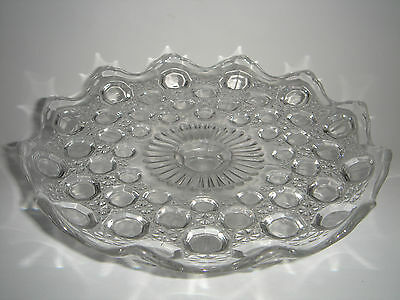 Comport Pressed Depression Glass Rd.153838 c.1890 Antique English Pedestal Cake