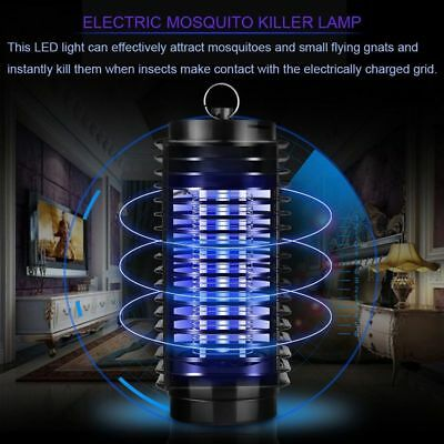 220V/110V UV Mosquito Bug Fly Insects Moth Killer Catcher Trap Lamp Electric BP