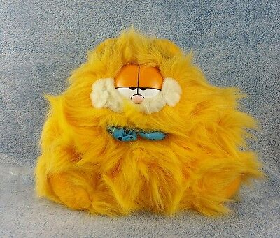 "Garfield Plush Stuffed 10"" Dakin Carfield Bow Tie Guy Vtg Rare Blow Out 1981"